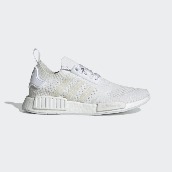 low cost 06a17 10454 adidas NMD_R1 Primeknit Shoes - White | adidas UK