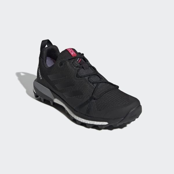 adidas Women's Terrex Skychaser LT GTX Multisportschuhe Shock Cyan Core Black Ash Grey | 4 (UK)