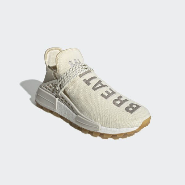 detailed pictures b2ab2 9deb2 adidas Pharrell Williams Hu NMD Proud Shoes - White | adidas UK