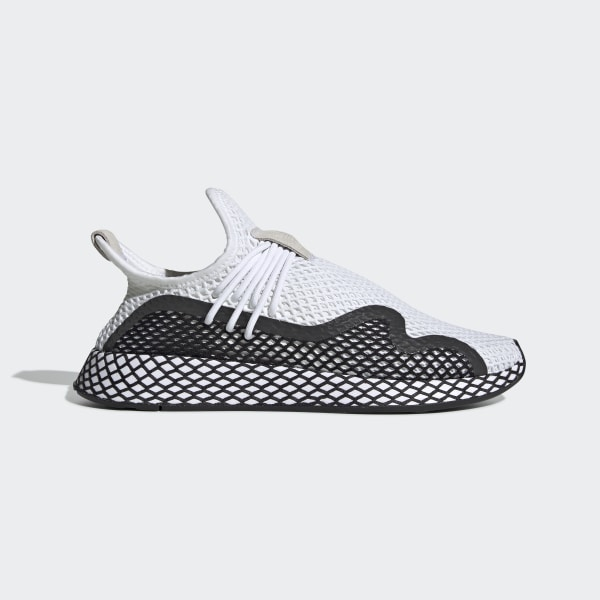 20862620 adidas Deerupt S Shoes - White | adidas US