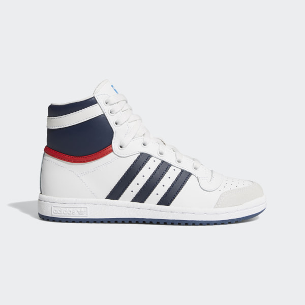 la meilleure attitude a5b2d 99649 adidas Top Ten Hi Shoes - White | adidas US