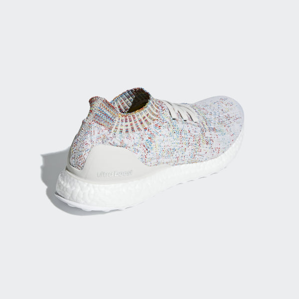 best service 1858b 78c98 Ultraboost Uncaged Shoes Raw White   Cloud White   Shock Cyan B37691