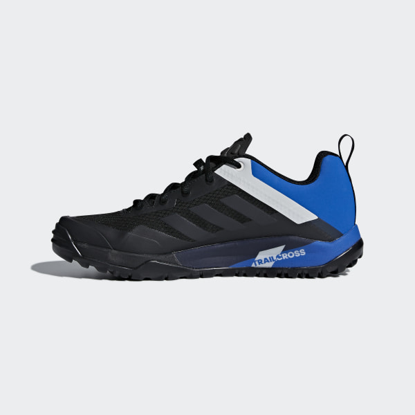 adidas outdoor Mens Terrex Trail Cross SL Shoe (9 Black