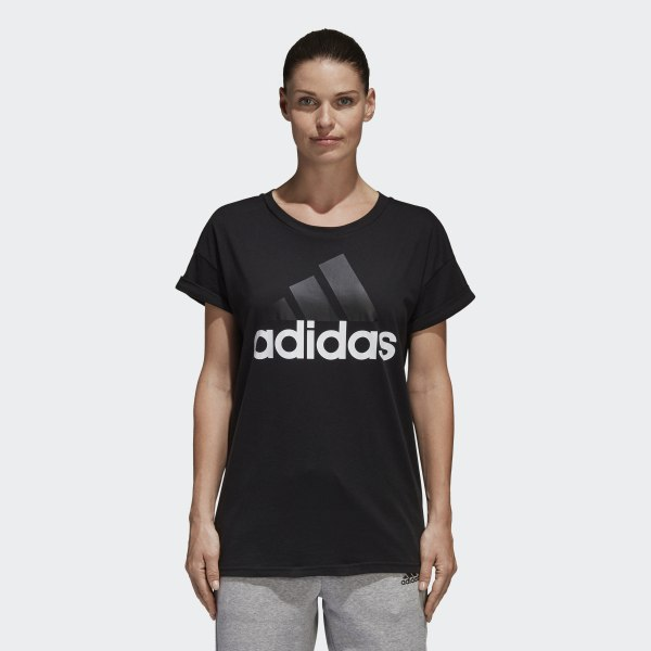 8db74fb9 adidas Essentials Linear Loose Tee - Black | adidas Canada