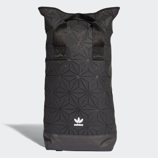 83f58daea569e adidas 3D Roll Top Rucksack - schwarz