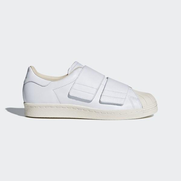 adidas Superstar 80s Schuhe weiß schwarz