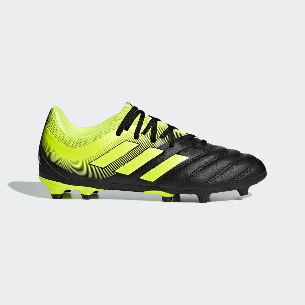 0cdbbc7d Футбольные бутсы Copa 19.3 FG core black / solar yellow / solar yellow  D98080