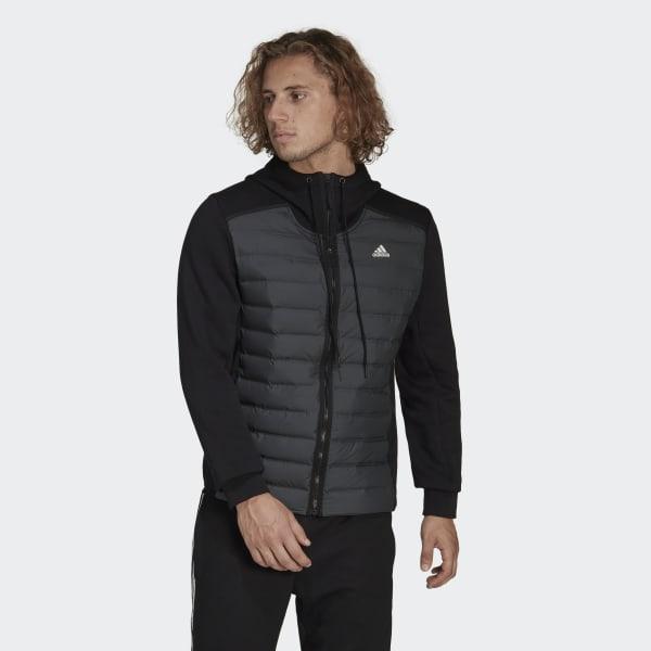 44ecae6fe2e adidas Varilite Hybrid Jacket - Black | adidas UK