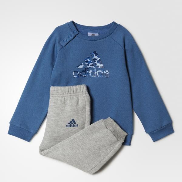 6c1e6ba41919 adidas Pants con Sudadera Sports Logo Jogger Adidas para Bebés - Azul |  adidas Mexico