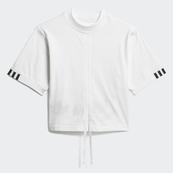 123e2afba9cc adidas Linear Logo Tee - White | adidas US