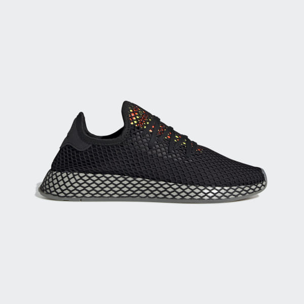 best website 3917b fc4aa Deerupt Runner Shoes Core Black   Sesame   Solar Red EE5674