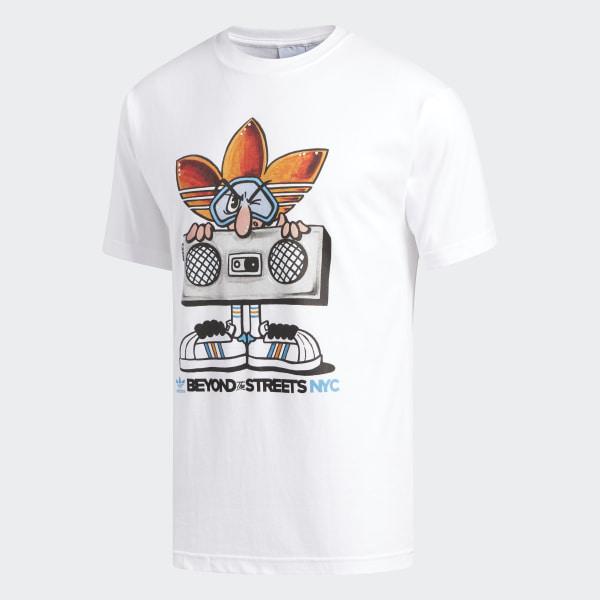 adidas KEO Boom Box Tee - White   adidas US