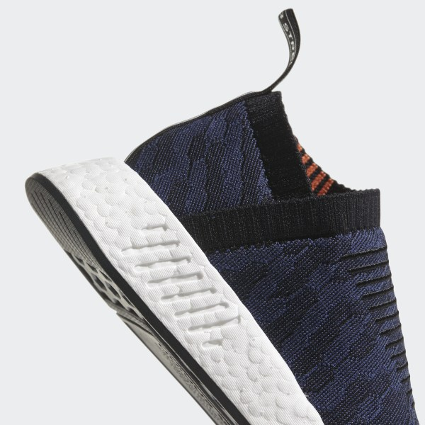 Adidas Originals Black and Indigo Nmd cs2 Pk Sneakers