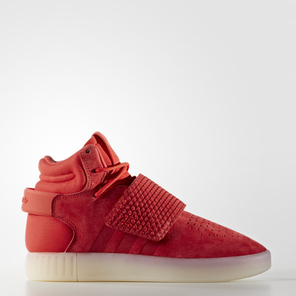 san francisco 30f76 bb3df adidas Tubular Invader Strap Shoes - Red | adidas Australia