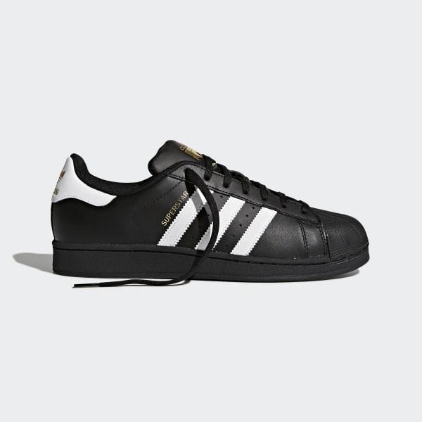 a5479aa96de Superstar Foundation Shoes Core Black / Cloud White / Core Black B27140