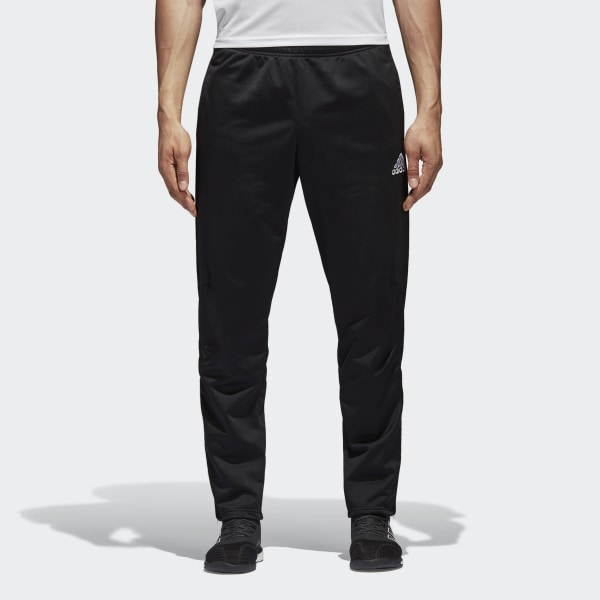 c0314357305 Tiro 17 Training Pants Black   White AY2877