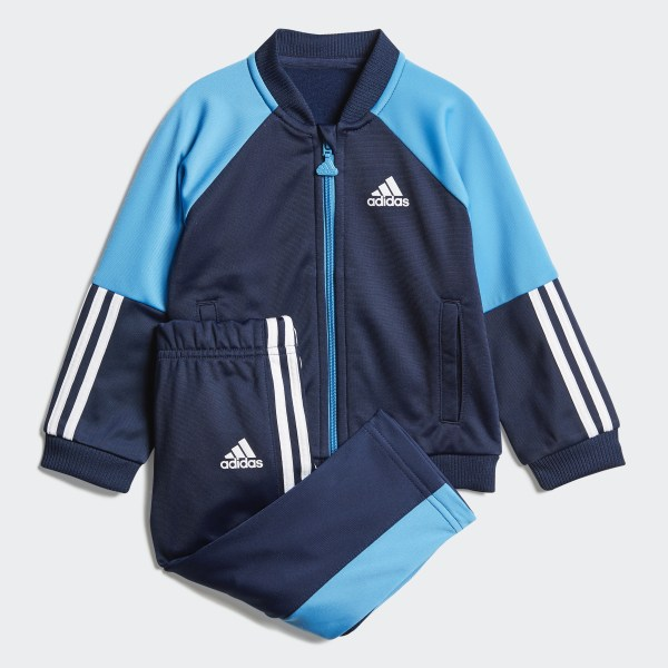 0a8d72a8f0ad adidas Shiny Tracksuit - Blue | adidas UK