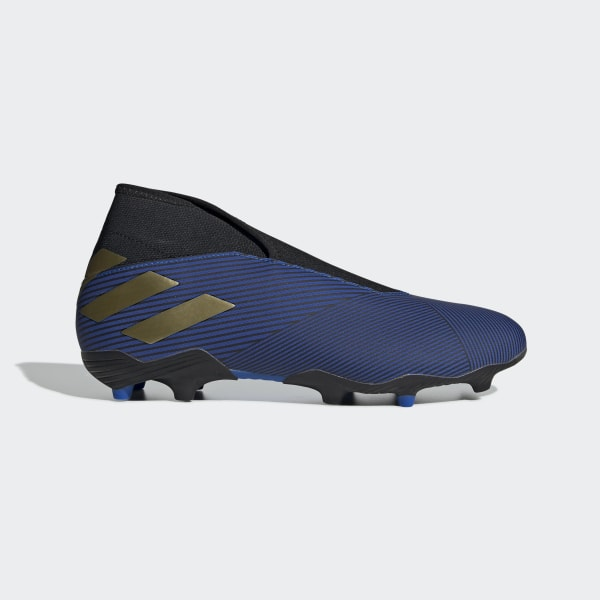 af43ae9c Nemeziz 19.3 Firm Ground fotballsko Football Blue / Gold Met. / Core Black  EF0373