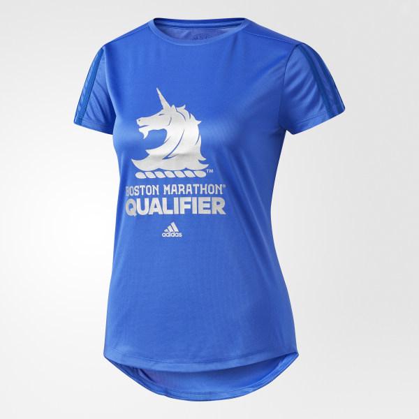 4659bcec adidas Boston Marathon Qualifier Tee - Blue | adidas US