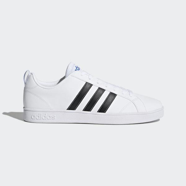92509e930 VS Advantage Shoes Footwear White   Core Black   Blue F99256