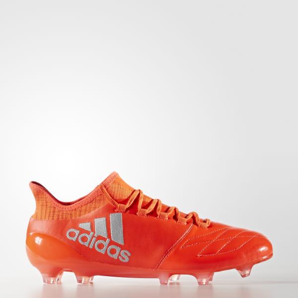 adidas Calzado Fútbol X 16.1 FG Piel Naranja | adidas Mexico