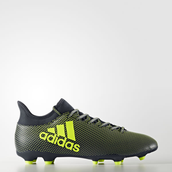 differently cb9d3 48f45 adidas X 17.3 Firm Ground Boots - Black | adidas UK