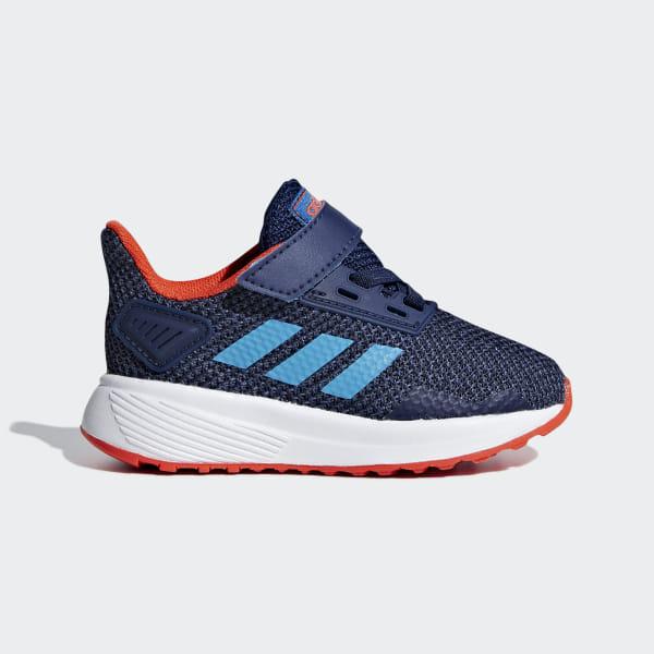 e43c3d6e6962c Duramo 9 Shoes Dark Blue / Shock Cyan / Legend Ink F35111