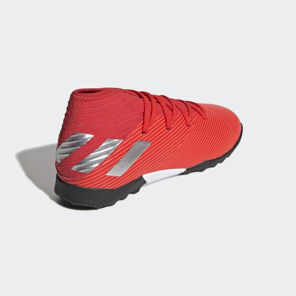 6d93a5cf2ba Nemeziz 19.3 Turf Boots Active Red   Silver Met.   Solar Red F99941