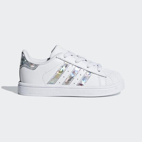 Süß Damen Adidas Originals Schuhe Superstar Trainers Weiß