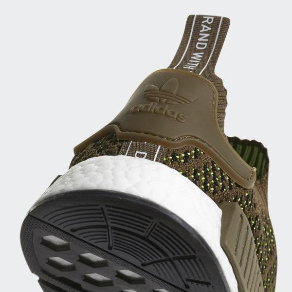 half off 19e37 40ee7 adidas NMD_R1 STLT Primeknit Shoes - Green | adidas Canada