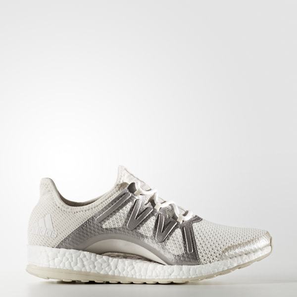 buy online 9a219 f17a5 PureBOOST Xpose Shoes Crystal White   Silver Metallic   Clear Brown BA8268