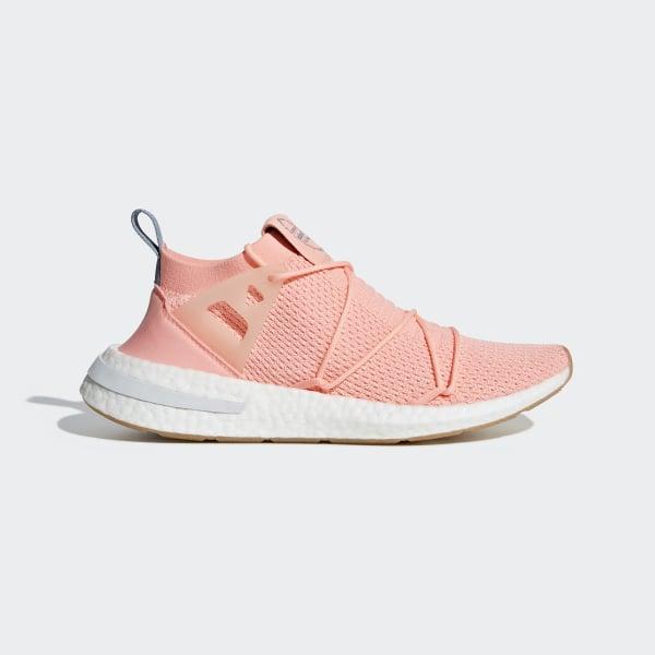 newest 1cb65 69ba8 Arkyn Primeknit Shoes Clear Orange   Clear Orange   Linen B96508
