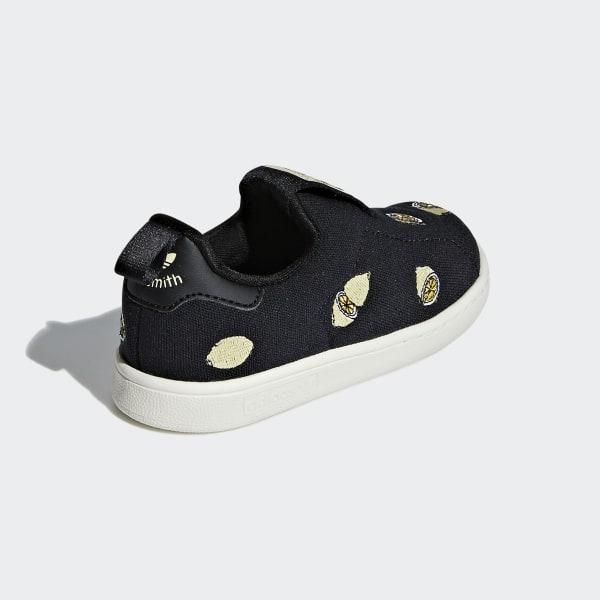 adidas Stan Smith 360 Shoes Black | adidas Australia