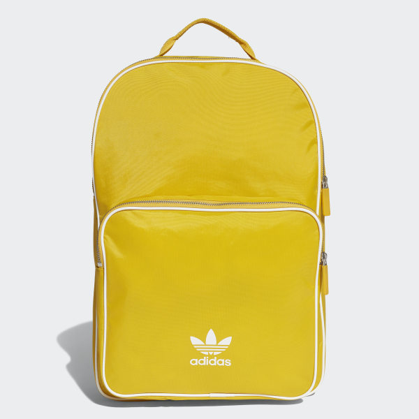 203b370172 adidas Classic Backpack - Yellow | adidas US