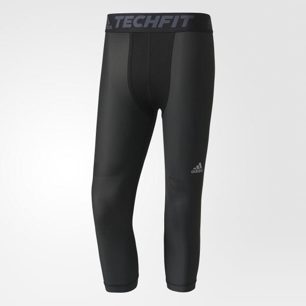 912710f792 adidas Men's Techfit Chill Three-Quarter Tights - Black   adidas Canada