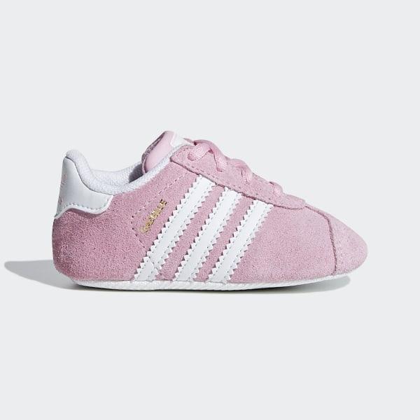 9e2289e42 Zapatilla Gazelle True Pink   Ftwr White   Gold Met. CG6542