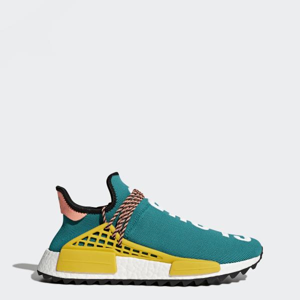 Adidas AC7188 Pharrell Williams Hu NMD TR Sun GlowCore BlackEqt Yellow