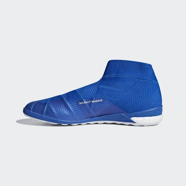 73660474a Nemeziz Tango 18+ Indoor Boots Football Blue   Ftwr White   Football Blue  DB2473