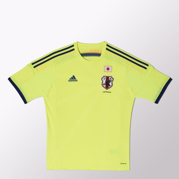 58b5b04087b Camiseta de Fútbol Selección Japonesa Visitante SOLAR  YELLOW/JAPANBLUE/ORANGE G74549