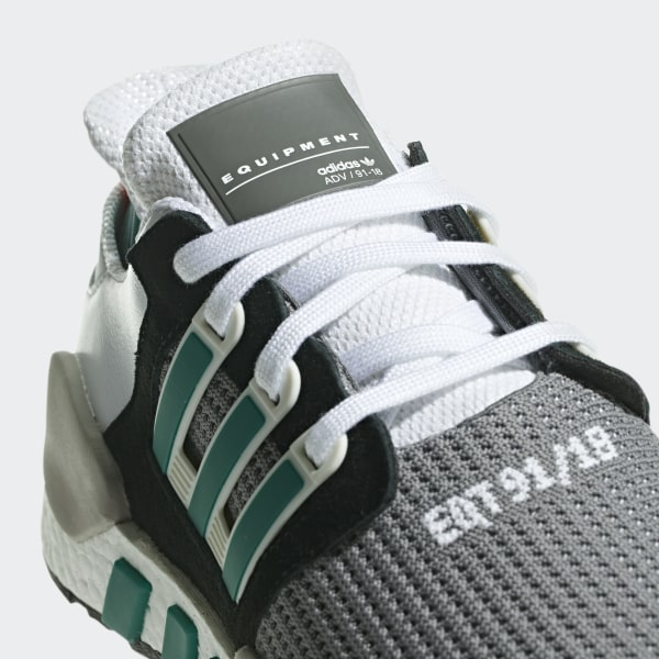Most Comfortable Boost Sneaker? Adidas EQT Support 9118 (Core Black, Clear Granite + Sub Green)