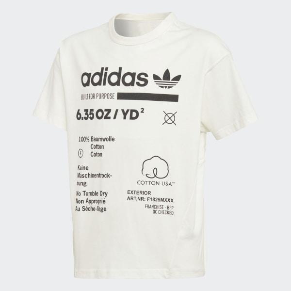 0b44e428982 adidas Kaval Tee - White | adidas Australia