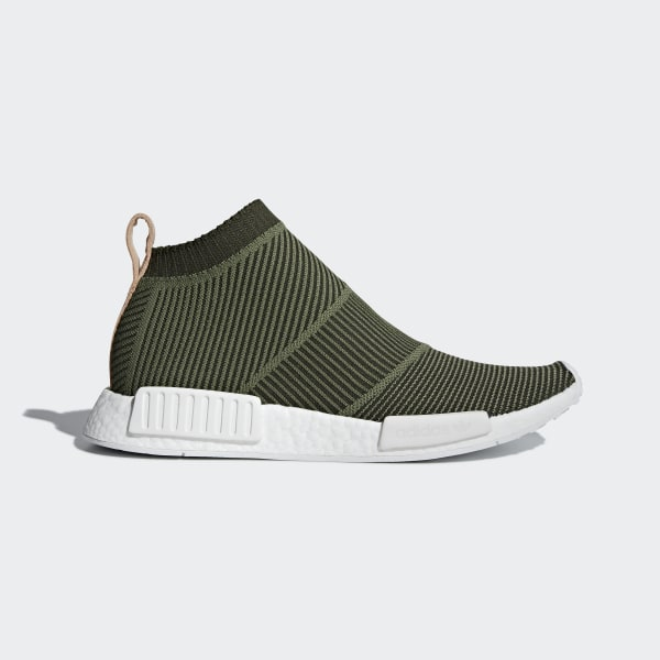 quality design e5140 b68a6 NMD_CS1 Primeknit Shoes Night Cargo / Base Green / Cloud White B37638