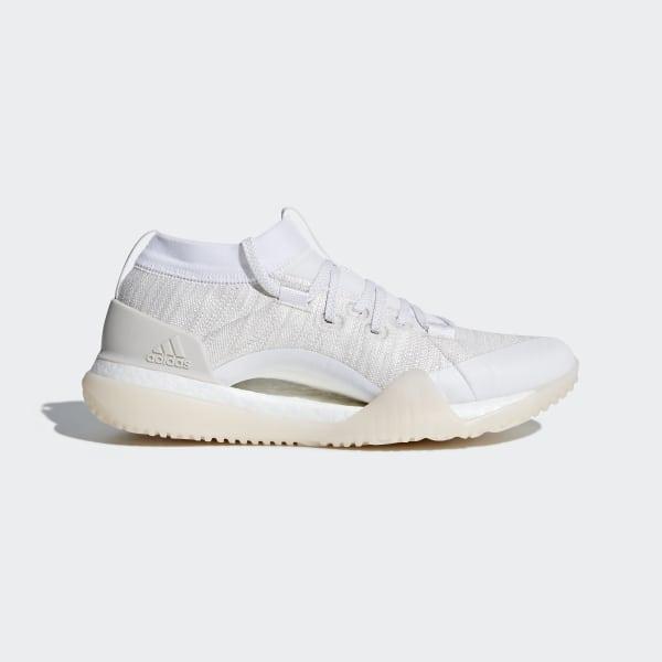 promo code 95bb6 4a9de Pureboost X TR 3.0 Shoes Ftwr White   Chalk Pearl   Silver Metallic CG3529