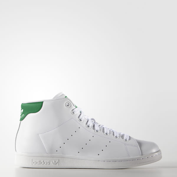 adidas stan smith hiver hommes mid-top baskets noir