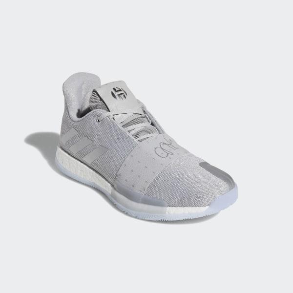 46990ce6c4d4 Harden Vol. 3 Shoes Grey Two   Silver Metallic   Aero Blue F36443