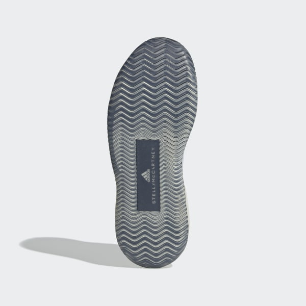 53976536 adidas by Stella McCartney Court Boost sko Cloud White / Cloud White / Legend  Blue AH2132