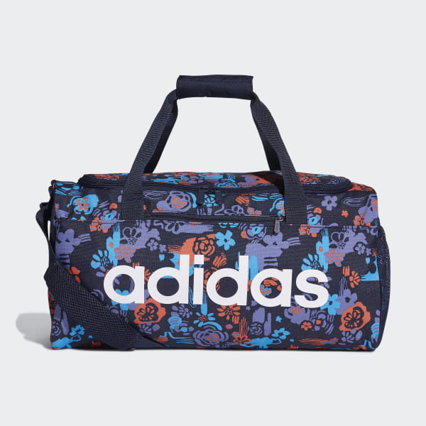 06192e1ca1 Linear Core Graphic Duffel Bag Small Legend Ink / Shock Cyan / White DT5653