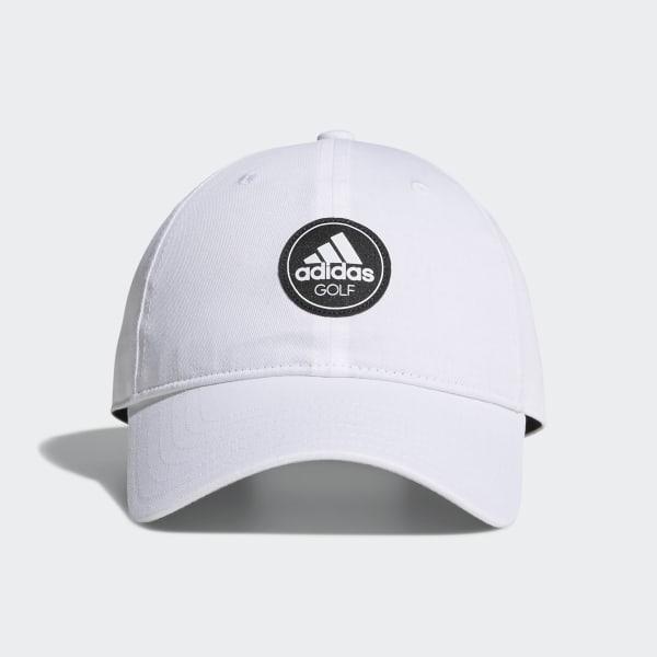 22189c75ee23b adidas Cotton Relax Cap - White