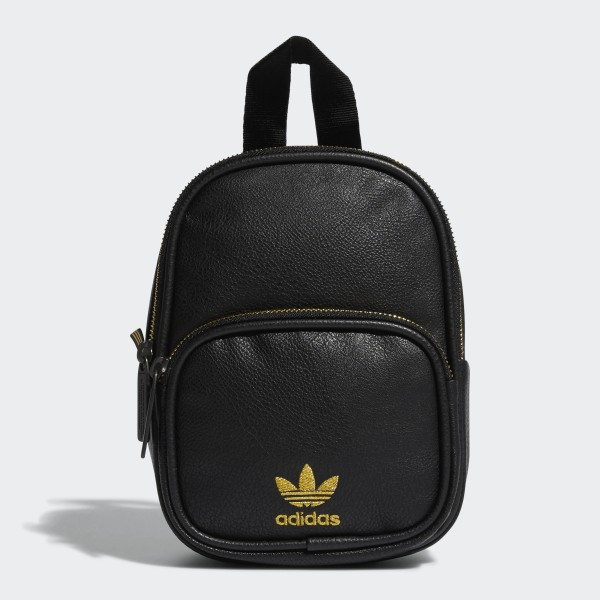 d6e135d577 adidas Faux Leather Mini Backpack - Black | adidas US