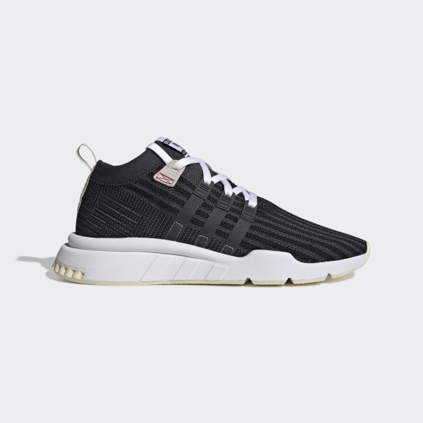 big sale c09d0 5c233 adidas EQT Support Mid ADV Primeknit Shoes - Black | adidas US